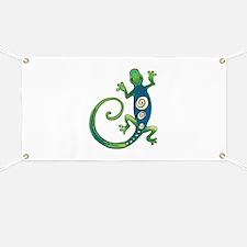 GECKO LIZARD Banner
