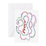 Fred-is-Peace Greeting Cards (Pk of 20)