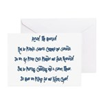 Pirate Cats Creed Greeting Cards (Pk of 10)