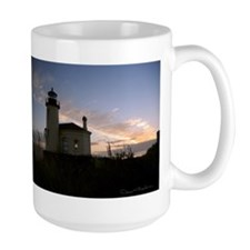Bandon Lighthouse Sunset Mugs