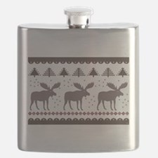 Maine Moose Flask