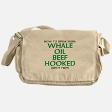Whale Oil Beef Hooked St. Patricks Day Design Mess