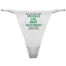 Whale Oil Beef Hooked St. Patricks Day Design Clas