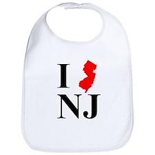 I NJ New Jersey Bib
