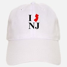 I NJ New Jersey Baseball Baseball Cap