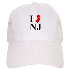 I NJ New Jersey Baseball Cap