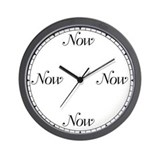 Now clock Wall Clocks