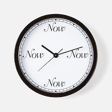 NowClock2 Wall Clock