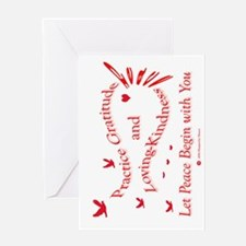 Gratitude and Loving-Kindness Greeting Card