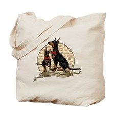 The Gentleman's Terrier by Molly Yang Tote Bag
