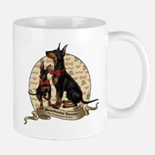 The Gentleman's Terrier by Molly Yang Mug