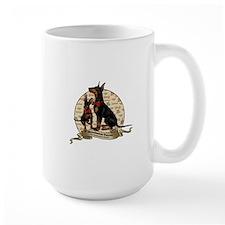 The Gentleman's Terrier by Molly Yang Mug