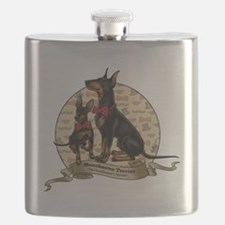 The Gentleman's Terrier by Molly Yang Flask