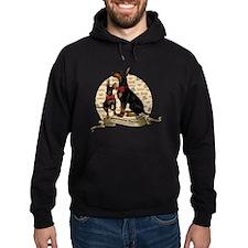 The Gentleman's Terrier by Molly Yan Hoodie