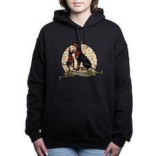 The Gentleman's Terrier  Women's Hooded Sweatshirt