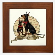 The Gentleman's Terrier by Molly Yang Framed Tile