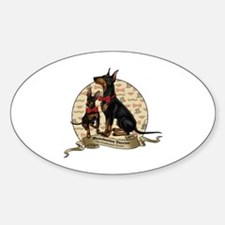 The Gentleman's Terrier by Molly Ya Decal