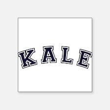 "Kale Square Sticker 3"" x 3"""