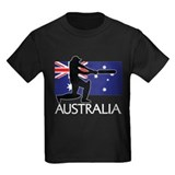 Australian cricket Kids T-shirts (Dark)