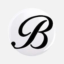 """B-Bir black 3.5"""" Button"""
