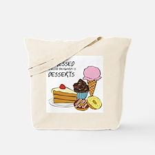 Stressed is dessert spelled backwards Tote Bag