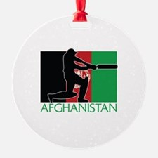 Afghanistan Cricket Ornament