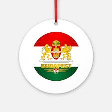 Budapest Ornament (Round)