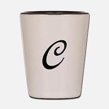 C-Bir black Shot Glass