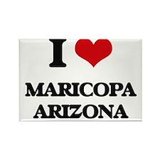 I love Maricopa Arizona Magnets