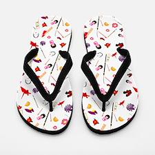 Japanese Girl Traditional Flip Flops