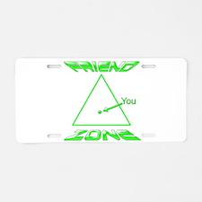 Friend Zone Aluminum License Plate