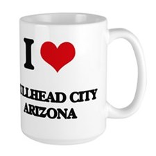 I love Bullhead City Arizona Mugs