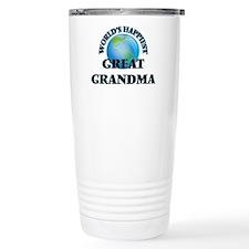 World's Happiest Great Travel Mug