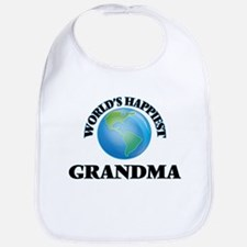 World's Happiest Grandma Bib