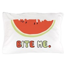 Bite Me Pillow Case