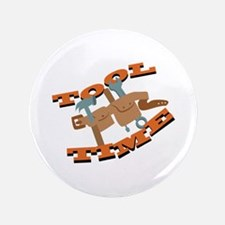 """Tool Time Belt 3.5"""" Button"""