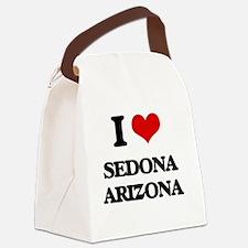 I love Sedona Arizona Canvas Lunch Bag