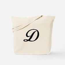 D-Bir black Tote Bag
