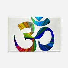 Cute Yoga Rectangle Magnet (100 pack)
