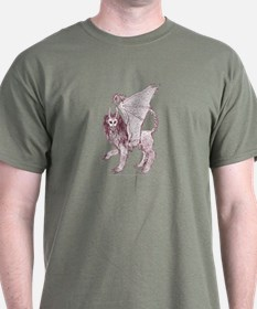 Sepia Regal Manticore T-Shirt
