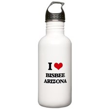 I love Bisbee Arizona Water Bottle