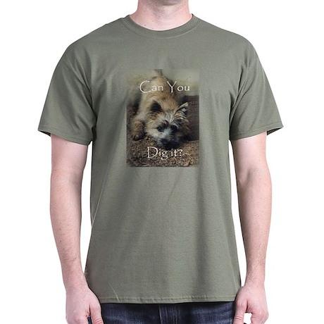 Cairn Terrier Dig It! Dark T-Shirt