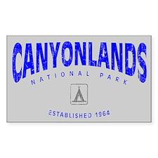 Canyonlands National Park (Arch) Sticker (Rectangu