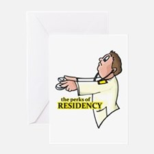Residency Humor Greeting Card