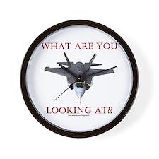 F35 Lightning II Wall Clock