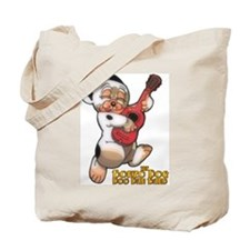 Funny Bonzo dog Tote Bag