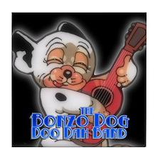 Cool Bonzo dog Tile Coaster