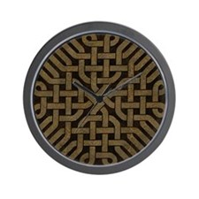 Light Leather Celtic Knot Wall Clock