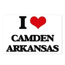 I love Camden Arkansas Postcards (Package of 8)