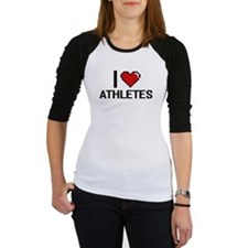 I love Athletes Baseball Jersey
